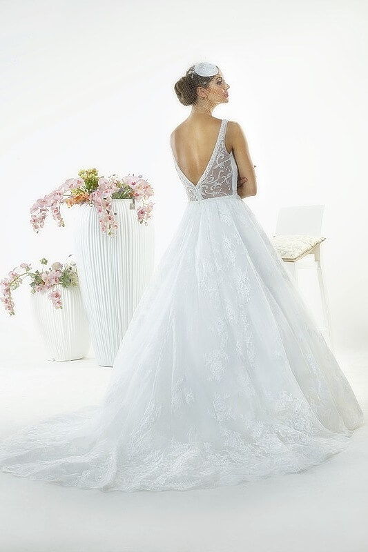 Wedding dresses white butterfly bridal collection for for Butterfly back wedding dress